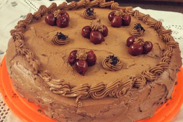 Τούρτα Black Forest σοκολάτα