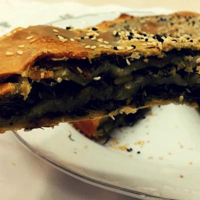 Χορτόπιτα χωριάτικη | νηστίσιμη συνταγή