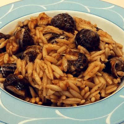 Χοχλιοί γιουβέτσι - συνταγή