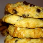 Cookies με σοκολάτα & αμύγδαλο