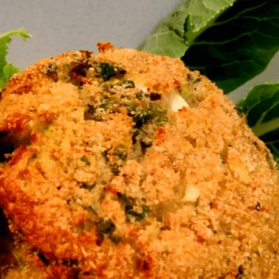 Μπιφτέκι από κουνουπίδι - συνταγή