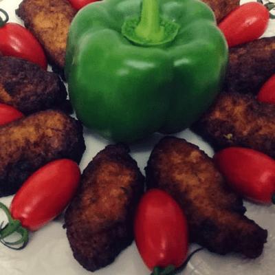 Μπουρεκάκια πιπεριάς - συνταγή