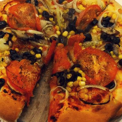 Πίτσα με λαχανικά | νηστίσιμη συνταγή