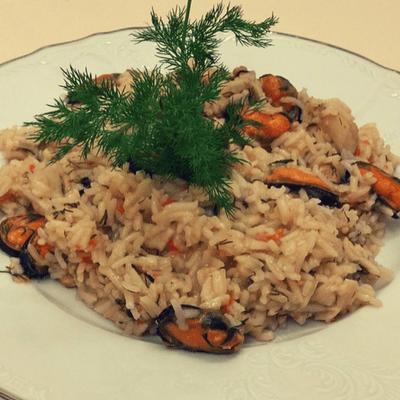 Ριζότο με θαλασσινά - συνταγή