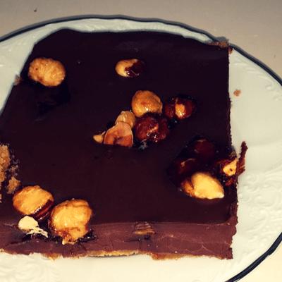 Σοκολατόπιτα νηστίσιμη - συνταγή