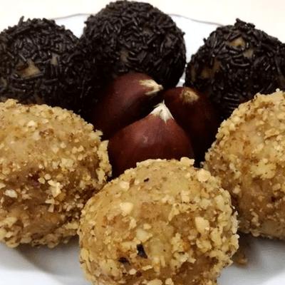 Τρουφάκια με κάστανο - συνταγή