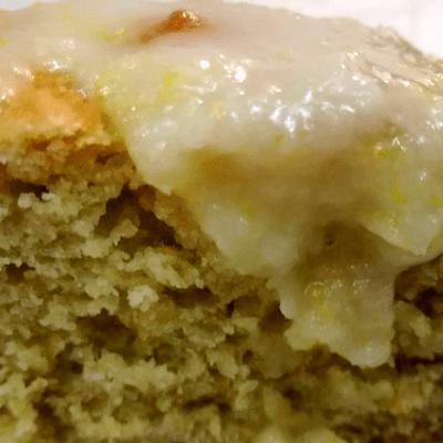Κέικ λεμόνι με αβοκάντο - συνταγή