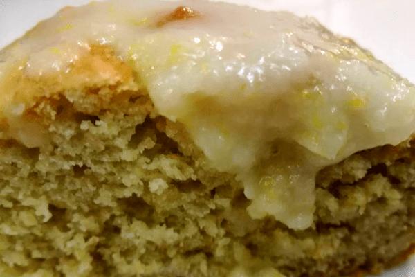 Κέικ λεμόνι με αβοκάντο
