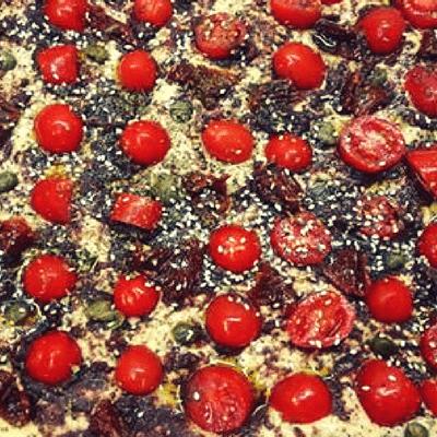 Λαγάνα - Πίτσα