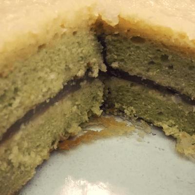 Κέικ με κρέμα λεμονιού - τούρτα λεμόνι