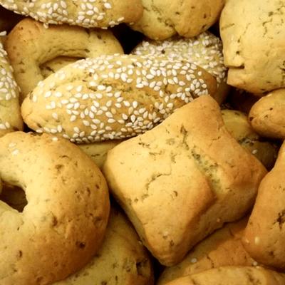 Κουλουράκια με γλυκάνισο