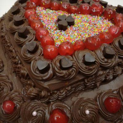 Eξωτική τούρτα σοκολάτα με καρύδα και ανανά