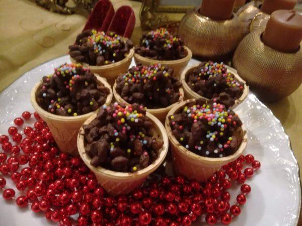 Χριστουγεννιάτικα σοκολατοχωνάκια